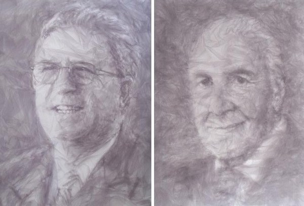 Работы из арт-проекта Tulle Portraits, Benjamin Shine
