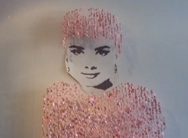 Audrey in Candy Pink, Augusto Esquivel
