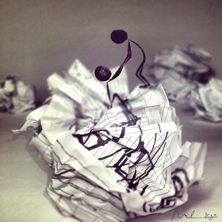 Muhammad Ejleh — cирийский художник-иллюстратор, рисующий простым карандашом на бумаге.