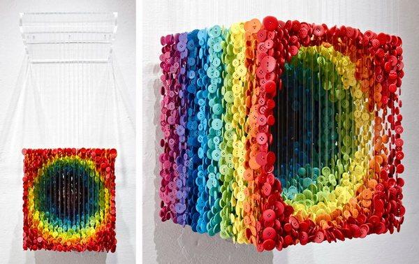 Красочная инсталляция от Augusto Esquivel
