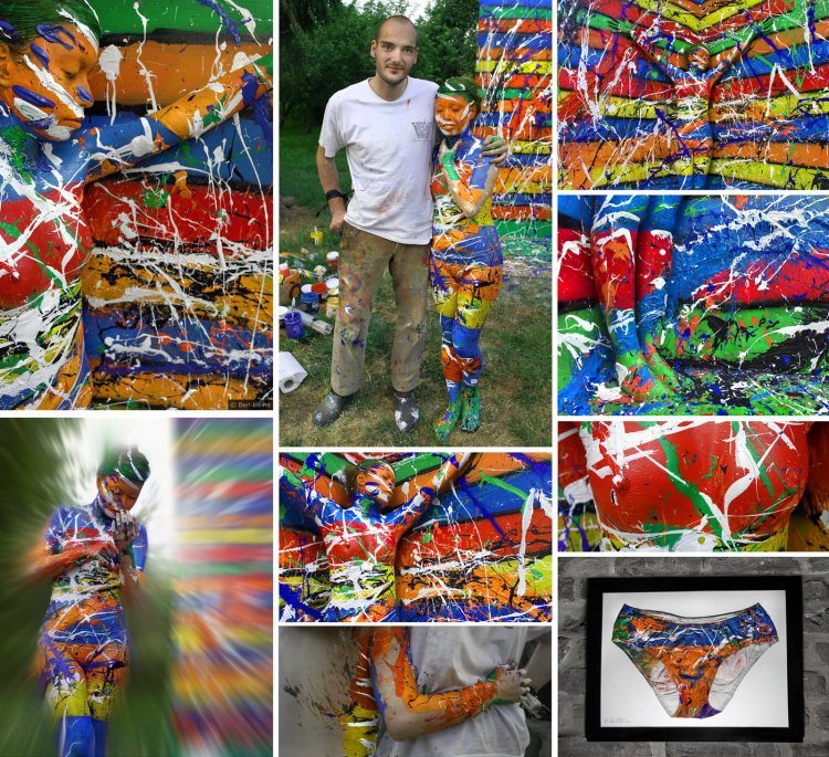 Автор — бельгийский многопрофильный художник Ben Heine.