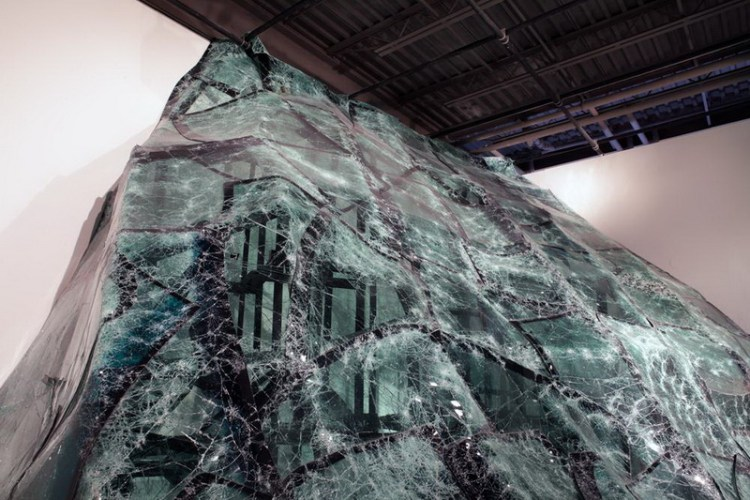 Инсталляция Flow, Baptiste Debombourg