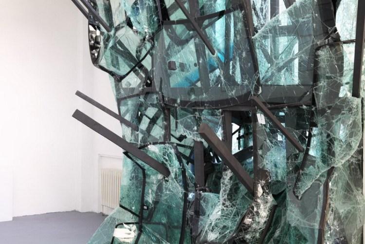 Инсталляция Volte Face, Baptiste Debombourg