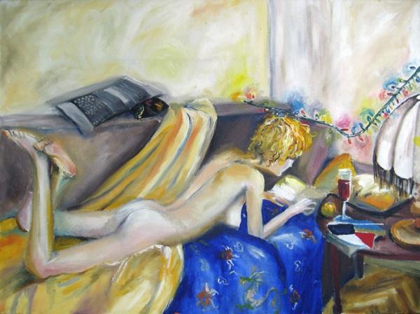 Картина молодой украинской художницы Екатерины Балицкой.
