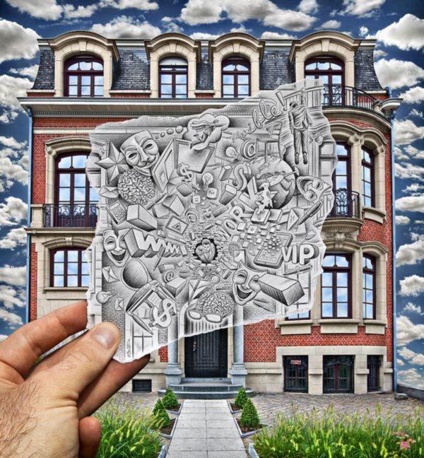 Оригинальный проект бельгийского художника и фотографа Бена Гейне.