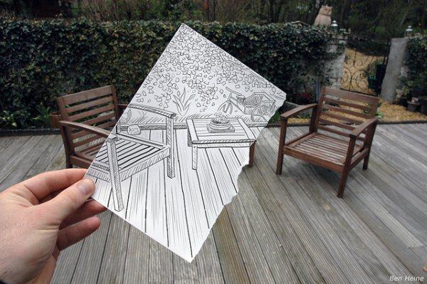 Уникальный проект бельгийца Бена Гейне (Ben Heine).