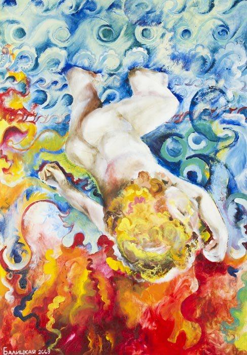 Современная живопись маслом украинской художницы.