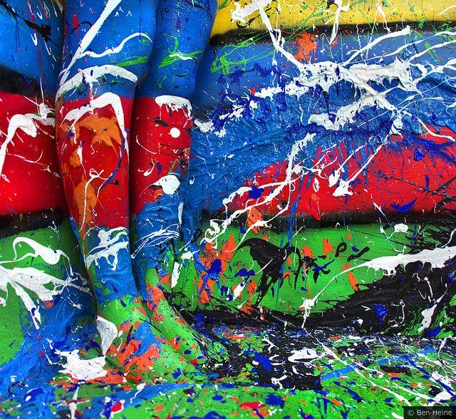 Картины акриловыми красками бен