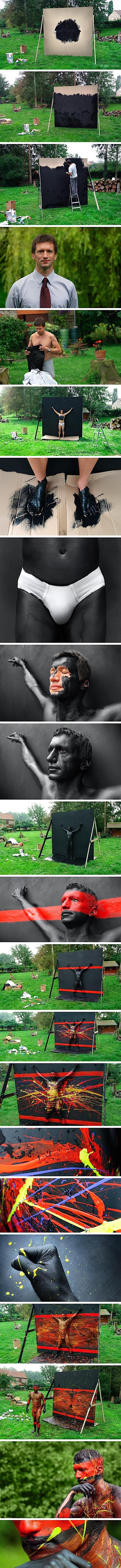Плоть и акрил (Flesh and Acrylic) — проект Бена Гейне.