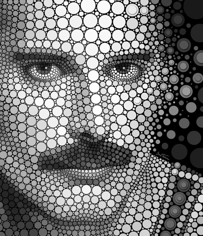 Новый вид современного искусства от графического дизайнера Бена Гейне.