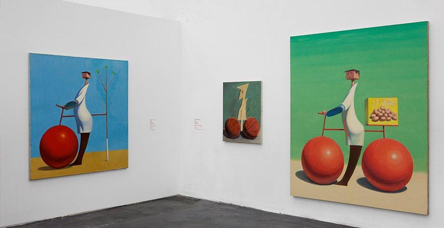 Wang Xingwei, ретроспектива в Пекинском центре современного искусства