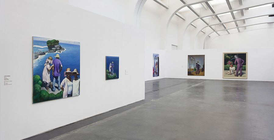Живописец Wang Xingwei, выставка-ретроспектива в Пекине