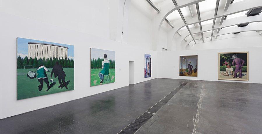 Выставка полотен Wang Xingwei в Пекине, UCCA
