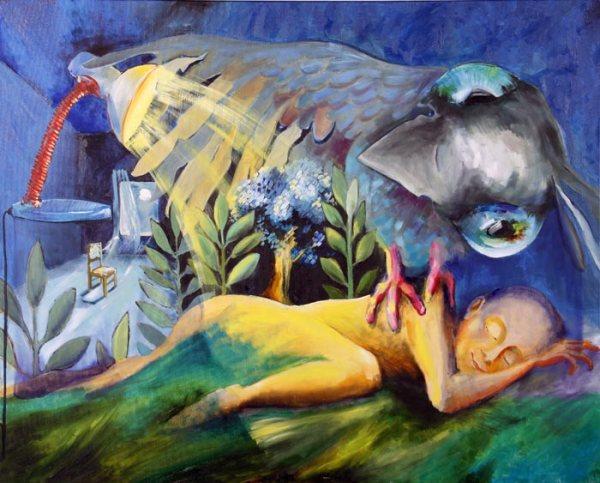 Современная живопись маслом молодой украинской художницы Екатерины Балицкой.