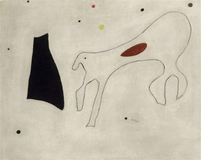 «Картина (Собака)» Джоана Миро