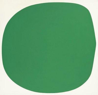 «Зеленая клякса» Эллсворта Келли