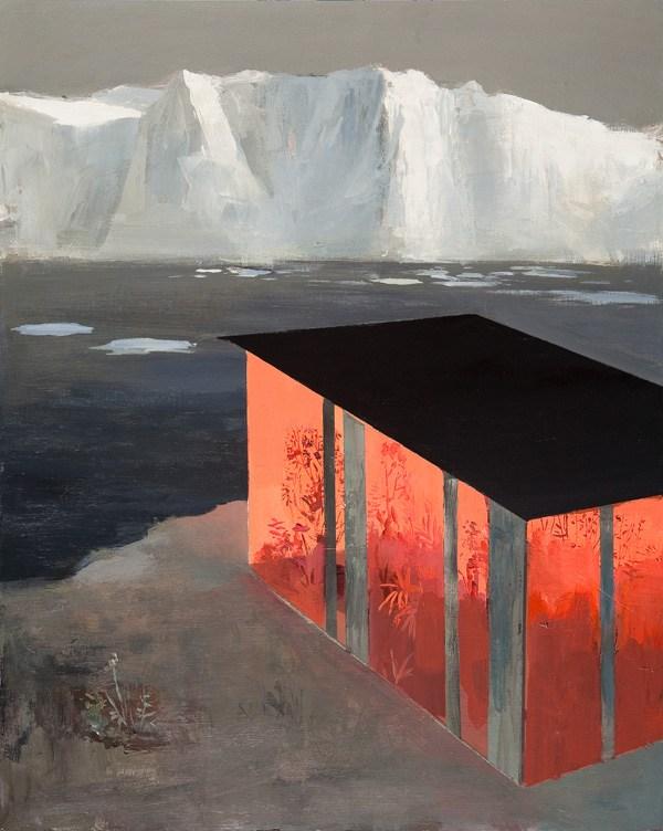 Акриловая живопись американского художника Джереми Миранда, уникальной особенностью которого является смешение миров и многоуровневость в картинах.