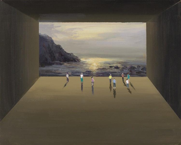 Творчество американского художника Джереми Миранда, уникальной особенностью которого является смешение миров и многоуровневость в картинах.