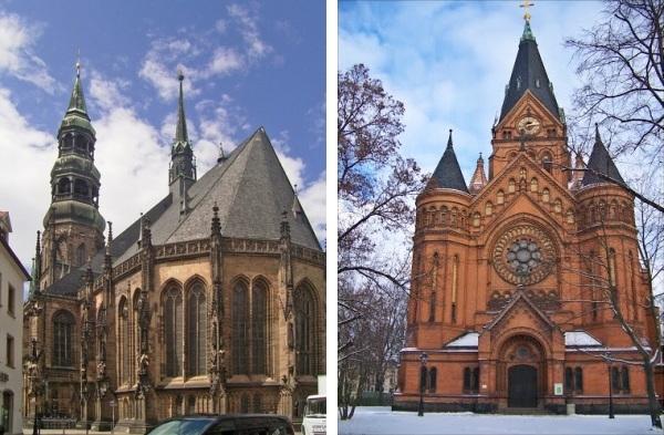Архитектура Цвиккау (Германия)