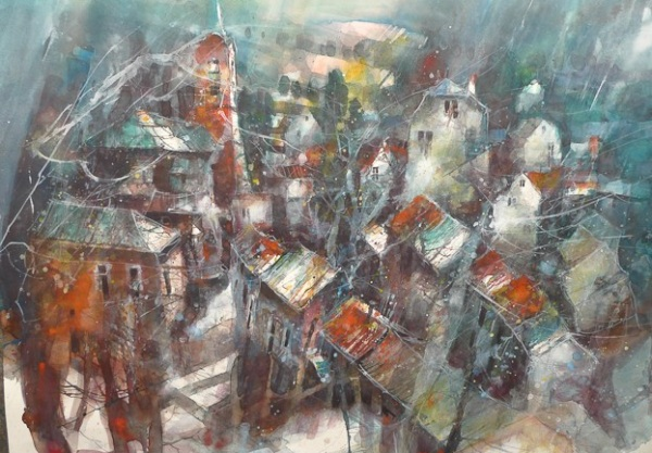 Французский художник Eric Laurent.