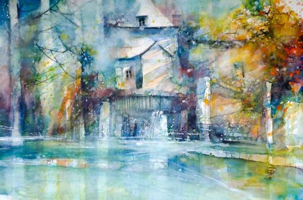 Пейзажи Эрика Лорана (Франция).