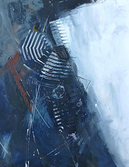 Абстрактное искусство современной художницы Carol Hein.