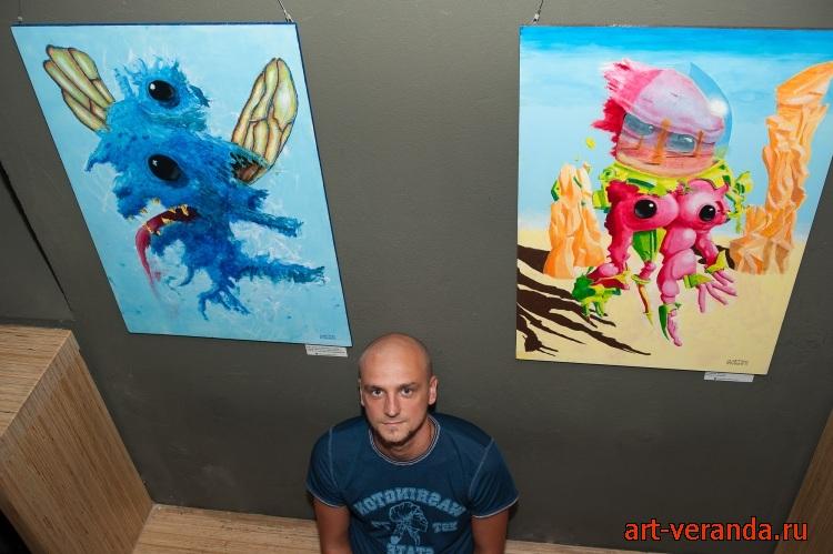 Талантливый современный художник.