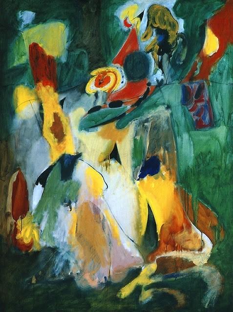 Абстрактное искусство. Аршил Горки.