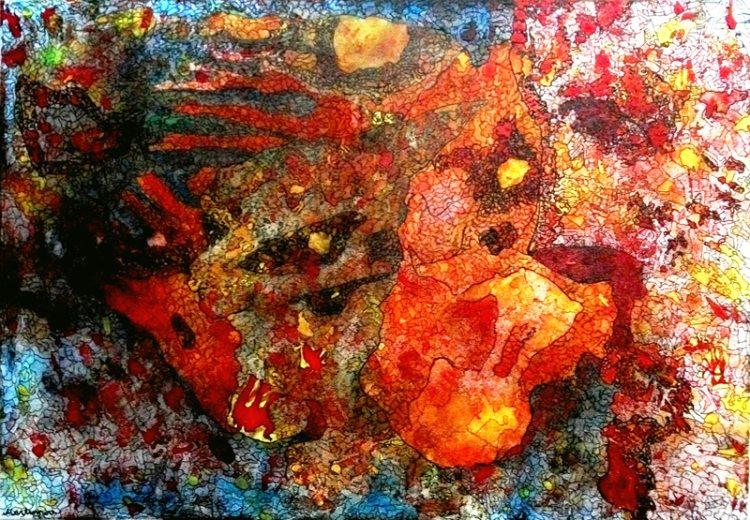 Современная живопись масляными и акриловыми красками.