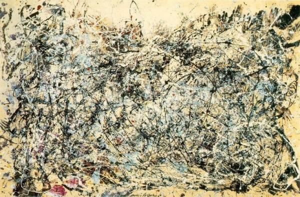 Абстрактное искусство Джексона Поллока.