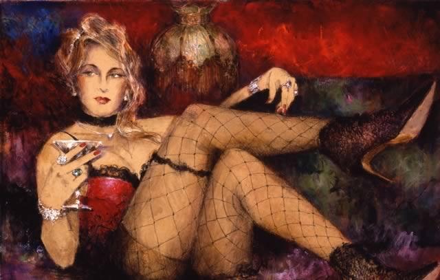 Сексуальные образы в творчестве известного художника.
