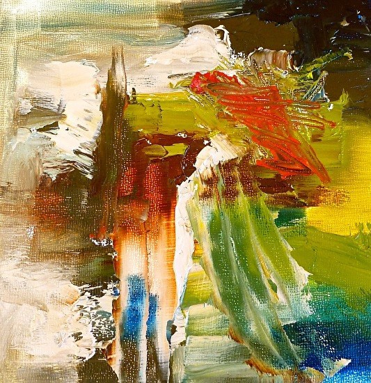 Абстрактная живопись современной художницы Carol Hein.